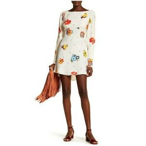 Free People Ivory Combo Floral Dress *NEW*